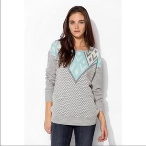 Urban Outfitters Ecote Intarsia Pullover Sweater